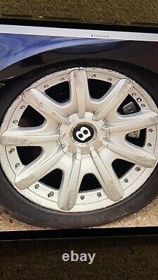 19 Bentley Mulliner Wheels Split Rims VW Audi BMW Mercedes GT GTC Speed Genuine