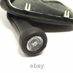 BMW 3 E30 5 Speed Gear Shift Leather Knob 25112225873 2225873 NEW GENUINE