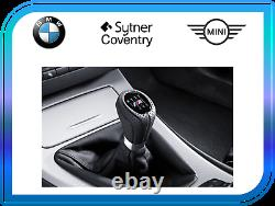 BMW Genuine M Gear Shift Knob+Gaiter Leather 6-Speed 3 Series Black 25118037309