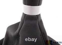 Bmw New Genuine M5 F10 Illuminated Gear Gear Knob With Boot 6 Speed Lhd 2284205