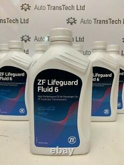 Genuine bmw 3 series zf 6 speed 6hp26 automatic gearbox pan sump filter 7L oil