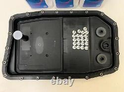 Genuine bmw 3 series zf 6 speed 6hp28 automatic gearbox pan sump filter 7L oil