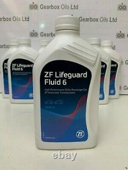 Genuine bmw land rover jaguar zf 6 speed automatic gearbox oil lifeguard 6 fluid
