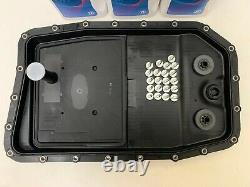 Genuine bmw x5 zf 6hp26 6 speed automatic gearbox pan sump filter oil 7L kit