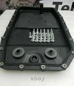 Genuine zf 6 speed 6hp26 6hp28 automatic gearbox oil sump pan filter with bolts