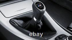 New Genuine BMW E90 E91 E92 E93 Leather Shift Knob With Boot/6-Speed 8037309 OEM