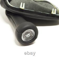Oem Bmw 3 E30 5 Speed Gear Shift Leather Knob 25112225873 2225873 Genuine