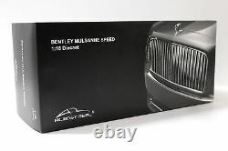 118 Presque Réel Bentley Mulsanne Speed 2017 Julep Jaune Métallique