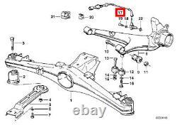 Nouveau Véritable Bmw 5' E28 6' E24 Rear Wheel Speed Abs Sensor Anti Lock System