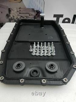 Véritable Bmw X5 Zf 6hp26 6 Vitesses Automatique Boîte De Vitesses Pan Huile Filtre 7l Kit