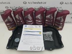 Véritable Bmw X6 8 Vitesses Zf 8hp45 50 70 Boîte De Vitesses Automatique Bac À Huile 7l Kit D'huile