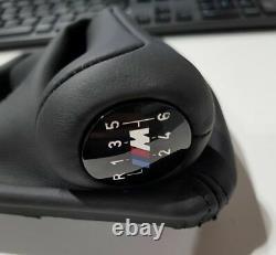Véritable Oe Bmw E90 E90n E92 E92n 6 Speed Gear Shift Knob En Cuir 2511283050