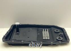 Véritable Zf Bmw 6hp26 6 Vitesses Boîte Automatique Boîte De Vitesses Filtre Kit De Service Pan Et Huile De 7l
